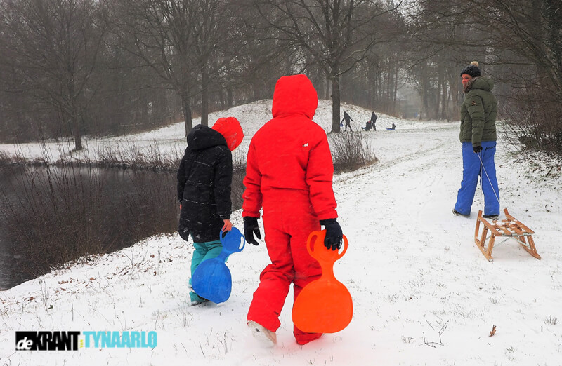 Sneeuwplezier in Vries
