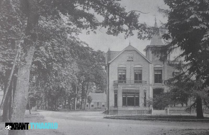 """Van toen naar nu oud gemeentehuis """"Lariks"""" Zuidlaren"""