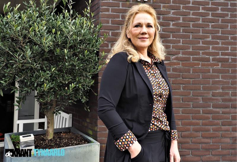Jaqueline Haijkens, voorzitter Bloemencorso Eelde
