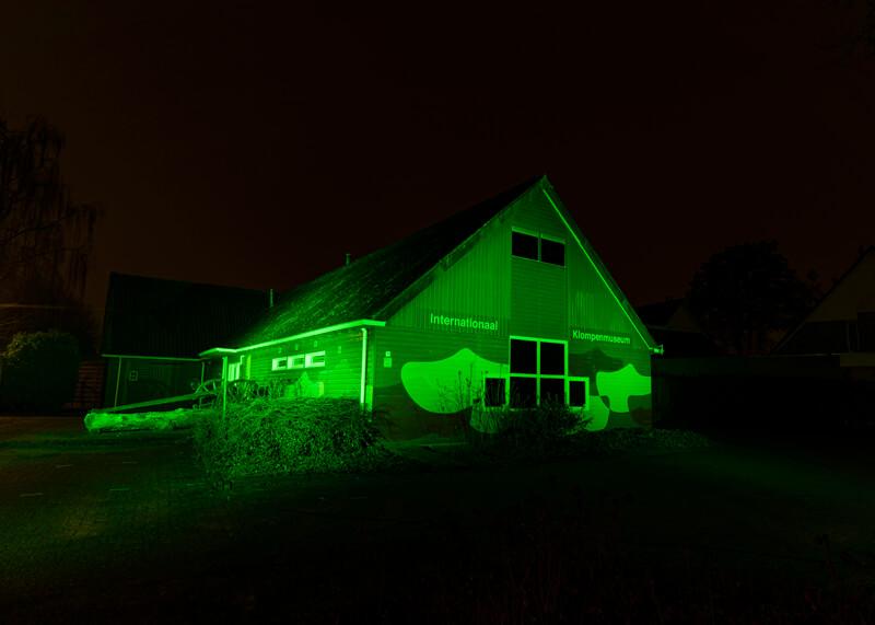 Klompenmuseum kleurt groen op St. Patrick's Day