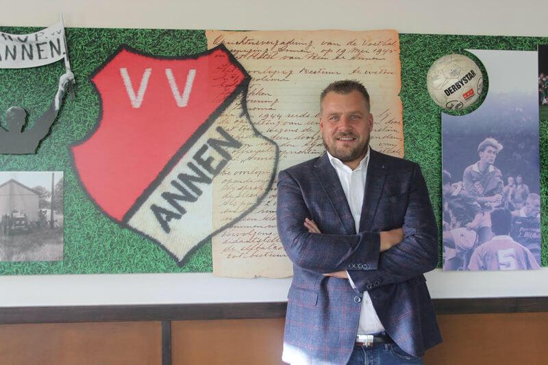 Remco van Rossum Voorzitter Voetbalvereniging Annen