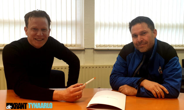 Paul Raveneau en FC Zuidlaren verlengen het contract.