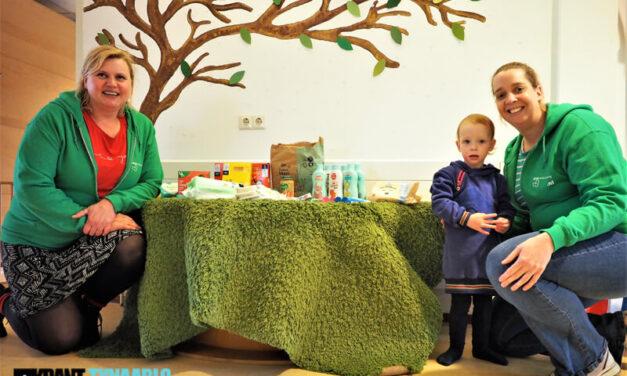 Door kinderen voor kinderen voedselbankactie