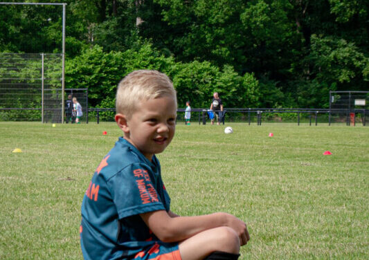KNVB Voetbaldag voor de jongste jeugd bij Actief